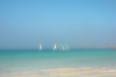 Blurry  Brittany (PaxaMik) Tags: brittany roscoff blur blue ble marine atlantique atlanticocean sailing voile horizon bretagne summertime colorful