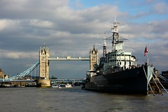 HMS Belfast (moniquerebanks) Tags: thames hmsbelfast warship towerbridge london uk river scenery nikond7100 city rivier stad hoofdstad