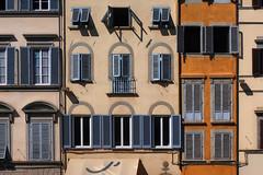 Façade florentine # 3 (Les 3 couleurs) Tags: façades firenze florence italie italia italy toscana toscane tuscany