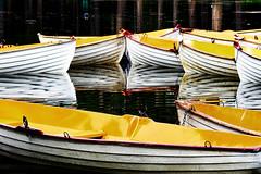 Barques du Bois de Boulogne r (freephysique) Tags: barques bois de boulogne jaunes romantisme romantique boats paris france
