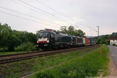 MRCE/BoxXpress 182 501+MRCE/BoxXpress 193 873 am 23.05.2018 mit einem Containerzug in Unterhaun (Eisenbahner101) Tags: