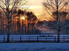 sunset (johnb/Derbys/UK) Tags: pov sunset walk weather derbyshireuk
