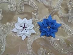Sakura Star - David Martinez (UnicornChik) Tags: origami star origamistar pentagonorigami