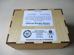 Beech Trees - box base (pefkosmad) Tags: jigsaw puzzle hobby leisure pastime robertlongstaffworkshops wood wooden doublesided lasercutwoodenpuzzles beechtrees fullyinterlocking lasercut woodenbox