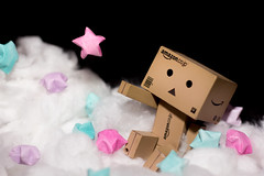 Space Cadet   23/365 (Cassidy Walker) Tags: cy365 365 365project wah wh werehere toy danbo stars space floating fluff clouds 365the2019edition 3652019 day23365 23jan19 black astronaut
