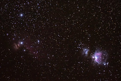 Orion and the Horsehead:  Nebulas (JeffMoreau) Tags: orion nebula horsehead astronomy astrophotography long exposure stellar night sky sony a7ii ioptron skytracker space pro texas terlingua alpine airbnb track
