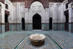 Bou Inania Madrasa (Meknès) Morocco, January 2019 D810 102 (tango-) Tags: meknes madrasa madrassa المدرسة البوعنانية morocco madersa bouinania maroc marocco