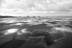 Low Tide in St. Peter Ording (DerAblichter) Tags: nordsee flut meer northsea hightide lowtide sea nature landscape seascape seashore art contrast sony light licht sonne sun wolken clouds ouside shadows water wasser beach strand natur