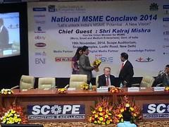20141119_132313 (newsmsme) Tags: national msme conclave 2014