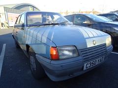 1986 Vauxhall Belmont 1.6 GLS (Neil's classics) Tags: vehicle 1986 vauxhall belmont 16gls