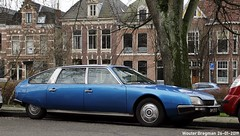 Citroën CX 2400 Prestige 1977 (XBXG) Tags: 04yb10 citroën cx 2400 prestige 1977 citroëncx blue bleu raamvest haarlem nederland holland netherlands paysbas vintage old classic french car auto automobile voiture ancienne française france vehicle outdoor