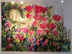 Dans mon jardin les rêves fleurissent (bpmm) Tags: colysée lambersart art expo nord exposition lucievandevelde dessin peinture illustration