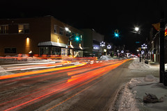 Main Street (Chaos2k) Tags: 52weeks 52weeksthe2019edition downtown night northbay ontario canada longexposure lowlight lightpainting lights snow winter brianboudreau canon5dmarkii canon24105l manfrotto 055xprob 488rc2