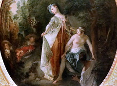 IMG_4208F Nicolas Lancret 1690-1743 Paris Les baigneuses. The bathers. Rouen Musée des Beaux Arts. (jean louis mazieres) Tags: peintres peintures painting musée museum museo lafemmedanslapeintureeuropéenne thewomanineuropeanpainting