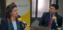Entrevista en Radio Pública FM (Checks and Balances) Tags: romeljurado entrevista radio radiopública guadalupefierro leydecomunicación loc reforma vetoparcial