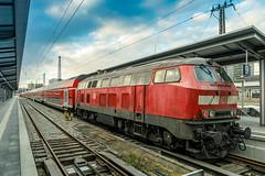 218 498-4 DB Regio München Hbf 31.01.19 (Paul David Smith (Widnes Road)) Tags: 2184984 db regio münchen hbf 310119 218