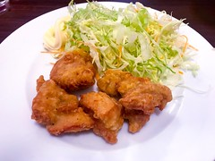 Close-up of breaded and deep fried chicken - Stock image 炸雞塊 唐揚げ (DigiPub) Tags: 天王町 玲瓏 唐揚げ 炸雞塊 1130889679299243166 1130889679 istock 299243166 breaded cabbage chickenmeat closeup crucifers deepfried food foodanddrink friedchicken horizontal japan lunch mayonnaise meal meat nopeople partofaseries photography plate readytoeat restaurant savoryfood shredded takenonmobiledevice おかず系 アブラナ科 キャベツ クローズアップ シリーズ画像 パン粉をまぶした フライドチキン マヨネーズ モバイル撮影 レストラン 人物なし 写真 揚げ物 日本 昼食 横位置 皿 盛り付け 細切れ 肉 食べ物 食事 飲食 鶏肉