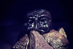 mask (Pepenera) Tags: mask stilllife pietra rpccia maschera nero