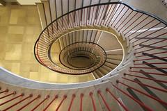 One way or the other (Elbmaedchen) Tags: steps stairwell staircase stairs stufen treppenhaus treppenauge treppe roundandround helix spirale spirals interior escaliers escaleras upanddownstairs