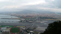 Gibraltar Airport 2004 (Marc Sayce's Old Digital Photos) Tags: la línea concepción airport upper rock gibraltar autumn november 2004 2003 2002 2001 2000