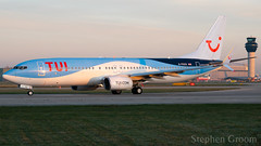 TUI Airways Boeing 737-8K5 G-FDZS (StephenG88) Tags: manchesterairport southside man egcc 23l 23r boeing airbus 25thfebruary2019 25219 22519 lineup takeoff tuiairways tom by thomson tui tuiuk 737 738 737800 7378k5 gfdzs