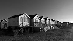 [beach huts] (RHiNO NEAL) Tags: rhino neal neil rhinoneal beach huts black white