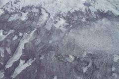 Purple Sand (brucetopher) Tags: purple sand pattern texture above beach cobalt quartz magnetic mineral glacial deposit nature natural found foundart naturesart abstract foam water creation tone tonal contrast ocean time erosion grain grains purplesand