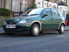 1997 Vauxhall Corsa 1.4i Breeze (Neil's classics) Tags: vehicle 1997 vauxhall corsa 14i breeze car