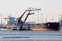 Xin Jin Hai (andreasspoerri) Tags: alltypesoftransport bulker dalian imo9482677 panama rotterdam transport xinjinhai
