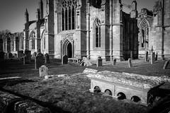 _DSC1430.jpg (Hideous Elf) Tags: abbey chruch detail grave lights melrose melroseabbey shadow stone