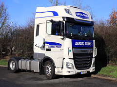 Dec 24 2018 beaconsfield PUG 554 (H) (jon L1049H) Tags: trucks daf diesel karzoltrans