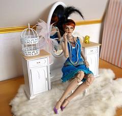 (Silli'on) Tags: bjd bjddol bjdphoto abjd fashiondoll raccoondoll raccoondolllucy lucy woman portrait