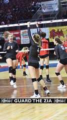 Goddard 1 (GuardTheZia) Tags: new newmexico nmaa state volleyball championships 2019 blue trophy bump set spike santa ana