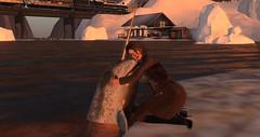 Mistletoe Lodge (3) (Osiris LeShelle) Tags: secondlife second life mistletoe lodge ski resort connoisseur sl sim review magazine january winter snow ice narwal hug aww