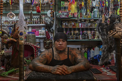BRUJO_3037 (VonMurr) Tags: brujo warlock sorcerer tattoo man mexican mercadosonora mexicodf mexico maurycygomulicki