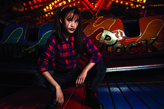 caitlin (Emily_sarahd) Tags: portraits portrait vintagefairground fairground dingles fashionshoot fashion colourful colour color fair