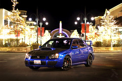 (theartistbeforeyou) Tags: subaru wrx sti rally awd fast turbo boost boosted photography christmas lights nightphotography subiebandit blobeye carbonfiber