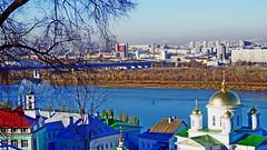Нижний Новгород (lvv1937) Tags: река ока остров храм мост 6000viewsunlimited6000 planetearthbackintheday wearefromyandexfotkiмыизяфа inexplore