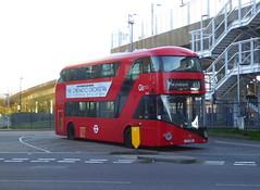GAL LT855 - LTZ1855 - OSF - DEPTFORD DLR STATION - SUN 24TH MAR 2019 (Bexleybus) Tags: deptford bus station dlr broadway college wrightbus new routemaster nbfl boris borismaster goahead go ahead london tfl route 453 lt855 ltz1855
