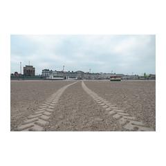 Tracks (John Pettigrew) Tags: lines hut d750 nikon dull tracks space empty mundane topographics beach imanoot angles ordinary closed desolate observations deserted tamron 2470mm banal documenting johnpettigrew