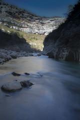 Les gorges du Verdon - Sentier Blanc-Martel. (Doriane Boilly Photographie Nature) Tags: eau mouvement verdon les gorges du sentier blancmartel pose longue var tourisme rivière cascade rochers