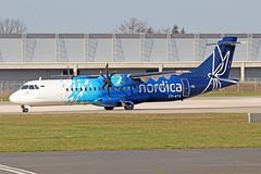 ATR 72-600 - ES-ATA - HAJ - 02.0.42019 (Matthias Schichta) Tags: haj hannoverlangenhagen eddv flugzeugbilder planespotting esata nordica atr72