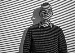 (2 of 5) (+Pattycake+) Tags: ©patriciawilden2019 25mm blackandwhite lumixdmcgm1 magnumexhibition mirrorless monochrome norwich primelens sainsburycentreforvisualart thebodyobserved shadows