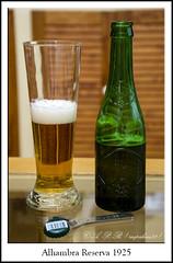 Alhambra Reserva 1925 (Agustin Peña (raspakan32) Fotero) Tags: alhambrareserva1925 ale birra beer biere bierpivo cerveja cerveza cervezas garagardoa bebida bebidas edaria edariak agustin agustinpeña raspakan32 raspakan nikond nikonistas nikond7200 nikonista nikon nafarroa navarra navarre