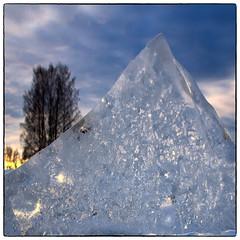 Is (Krogen) Tags: norge norway norwegen akershus romerike ullensaker nordbytjernet krogen vinter winter olympusomd