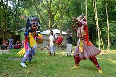 Gomira Mask Dancers of Bengal (pallab seth) Tags: gomiramask artisans dancers bengal india mukhakhel mahisbathan khuniadanga kushmandi craftsmen crafts maskmakers woodenmask ancient ritual tradition maskdance folkart artists animism rituals