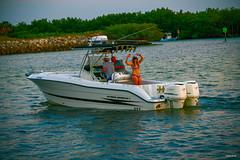 See Rays Of Sun (As Lovely) Dancer Not On SeaRay SunDancer Soaks In Tampa Bay Sunset - IMRAN™ (ImranAnwar) Tags: d850 nikon sunset water bikini tan boats yamaha florida bathingsuit zoom dancer brunette fishing garmin luxuryliving outboard woman tampabay apollobeachboating boat imrananwar lifestyle waves imran apollobeach unitedstatesofamerica us