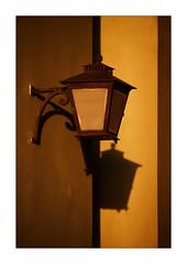 simple single lamp (Armin Fuchs) Tags: arminfuchs stpetersburg russia lamp light shadows brown jazzinbaggies