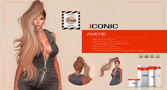 ICONIC_AMERIE_BANNER_sat (Neveah Niu /The ICONIC Owner) Tags: sale secondlife saturday pony discount amerie iconic iconichair iconiccouture blender zbrush