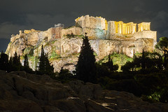 View of The Acropolis from Areopagus Hill (jonk4444) Tags: greece xe2 athens acropolis parthenon areopagus hill marshill